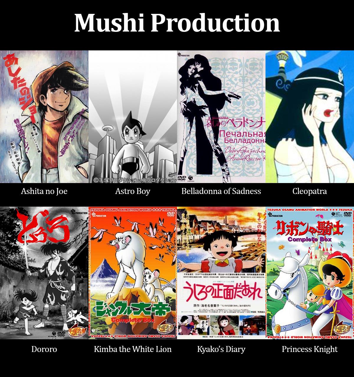 7. Mushi-Pro anime