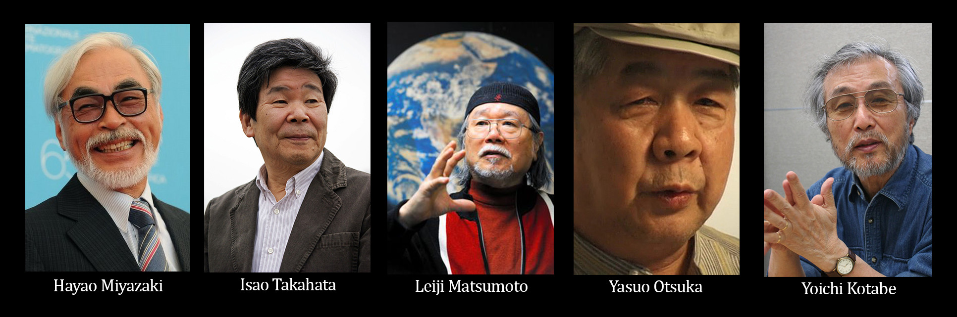 2. Toei Big Names