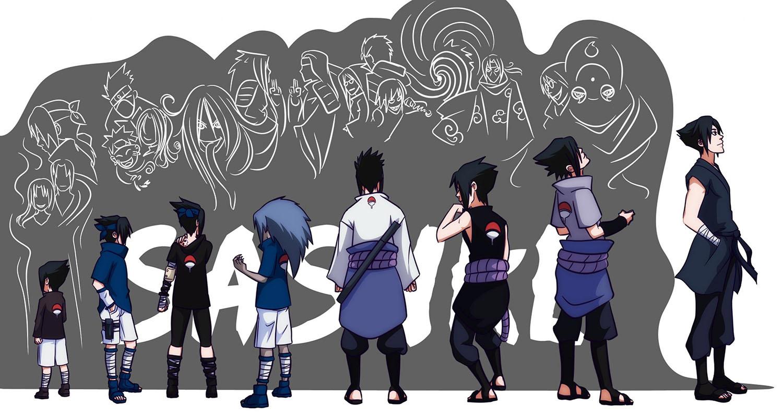 Uchiha Sasuke Evolution